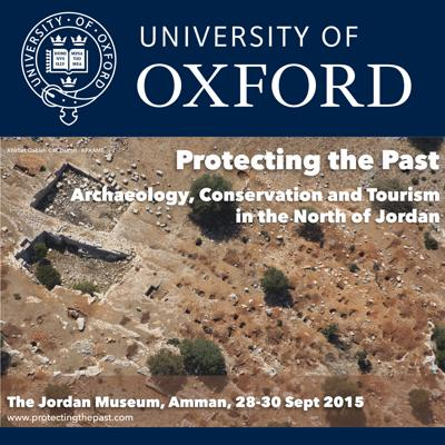The purpose of this colloquium (28-30 September 2015) was to discuss how recent advances in the archaeological investigation of northern Jordan (Amman) can influence a wider approach to understanding Jordan's cultural heritage through discovery, re-interpretation and better presentation. The conference gathered international and national specialists from a range of disciplines. These include archaeologists active at multi-period sites and on survey projects, experts in remote sensing and aerial archaeology, geoarchaeologists and geographers. By bringing them together with NGOs and practitioners with a stake in the development of cultural tourism in northern Jordan, we wished to foster better co-operation and collaboration.This inter-disciplinary discussion, focussing on archaeological sites and landscapes, showed that their value is not just historical and cultural but can also be economic, educational and social