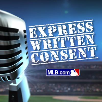 Express Written Consent is is a baseball loving late night talk show. Jeremy Brisiel (@jbmlb) hosts EWC from Major League ballparks, inviting celebs, musicians, writers, and athletes to hang out and catch a game. With in-show games like Start/Bench/Cut and 3Up 3Down, you'll have a seriously funny time with celebs like Jon Hamm, Ken Jeong, Melissa McCarthy and Kermit the Frog.