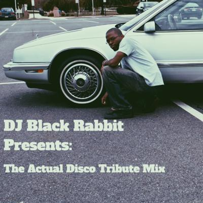 Cover art for The Actual Disco Tribute Mix