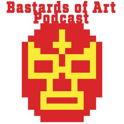 Bastards of Art is a podcast to reach out to lowbrow artist. We are helping artist to come together with a message of positivity and ambition. It can feel very lonely spending hours in the study. We are here to help erase self doubt and cultivate the artist inside you.