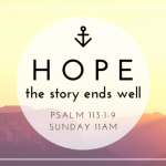 Cover art for Hope: Your Story Ends Well (Be Encouraged)