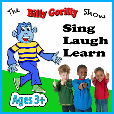 The Billy Gorilly Show Podcast is perfect for 3-6 year olds. Billy Gorilly And the Candy Appletree Family sing songs, teach interesting things, and tell stories. Kids can listen and learn looking forward to a new episode every 8 weeks. Look for our podcast in the iTunes Music Store or check us out at www.billygorilly.com