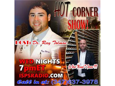 Cover art for Episode 215 - The HOT Corner Show FANTASY DRAFT Show plus REALITY TV & Health!
