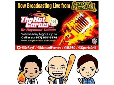 Cover art for Episode 209 - The Hot Corner Show w/ Dr Ray, MF3 & Special Guest Justin MacMahan