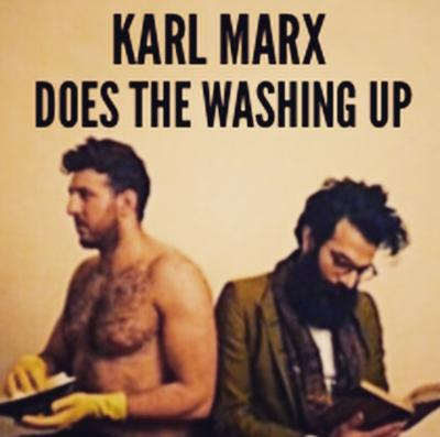 Karl Marx Does The Washing Up