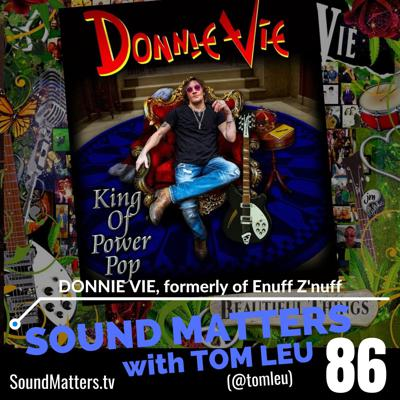 Cover art for 086: Donnie Vie formerly of Enuff Z'Nuff