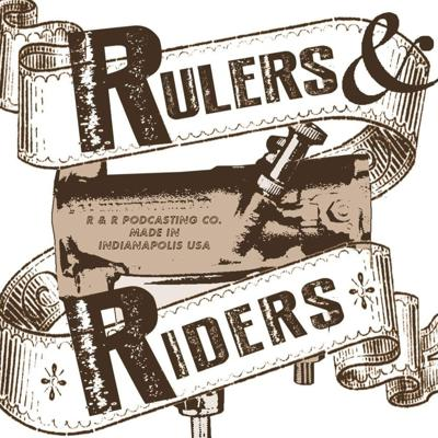 Rulers and Riders is the podcast where passionate people talk about what they create and what they ride.  Artists, entrepreneurs, publishers, designers, writers, photographers, musicians, actors and more discuss how they are inspired by their bikes and cars, as a means of escape, self expression and living life on their own terms.