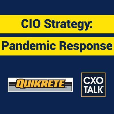 Cover art for CIO Strategy for Disaster Reponse (CXOTalk #374)