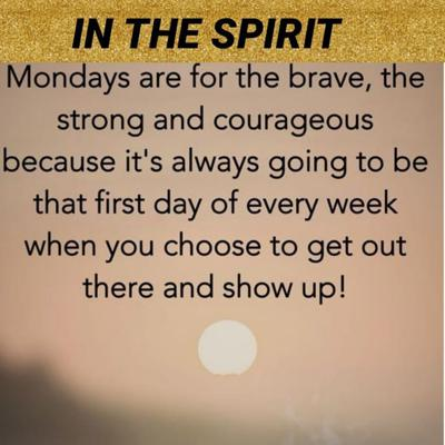 Cover art for DRT PRESENTS IN THE SPIRIT MONDAY MOTIVATION