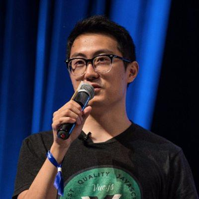 Cover art for E6 - Evan You, Vue.js: Parades, New CLI, Scoped Slots, and How To Tell Your Parents You're Cool.