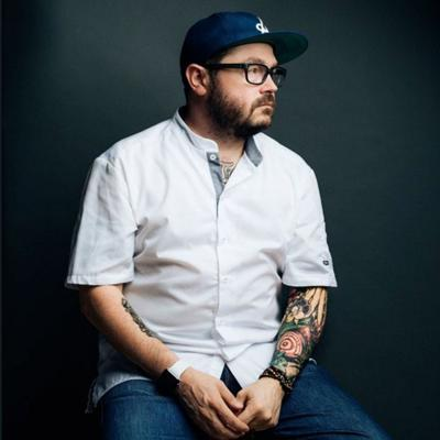 Cover art for Sean Brock on his Friend Tony, Fatherhood and Fried Chicken
