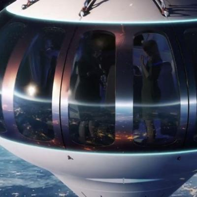 Cover art for $125k Balloon Ride, More Kaku on Aliens, Inspiration4 Countdown, and DOJ Page Numbering Nightmare