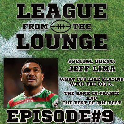 Cover art for EPISODE #9 - LEAGUE FROM THE LOUNGE