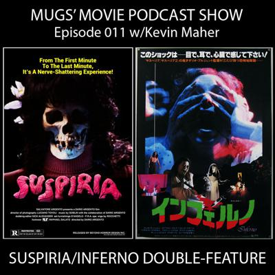 Cover art for MMPS011-SUSPIRIA INFERNO DOUBLE-FEATURE