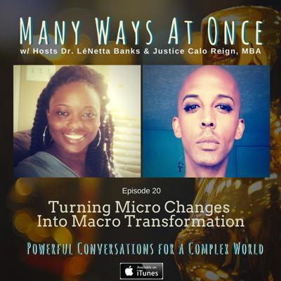 Cover art for Turning Personal Micro Changes Into Macro Transformation
