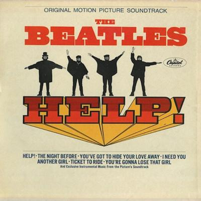 """Cover art for Beatles Cover From The Movie """"Help"""""""