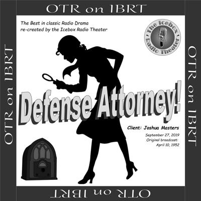 Cover art for Defense Attorney: Client - Joshua Masters