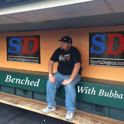 Cover art for Benched with Bubba Episode 6 - Guest Dawk