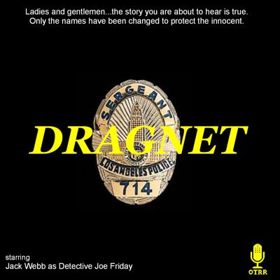 This podcast replays all available radio episodes of Dragnet, in chronological order.  Each weekend, the next two episodes are released.