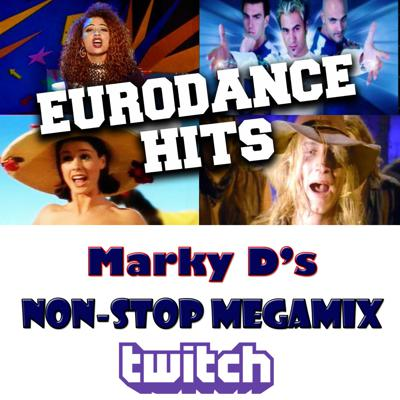 Cover art for MARKY D Presents Euro Dance