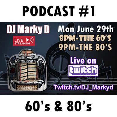 Cover art for MARKY D Presents The 60's