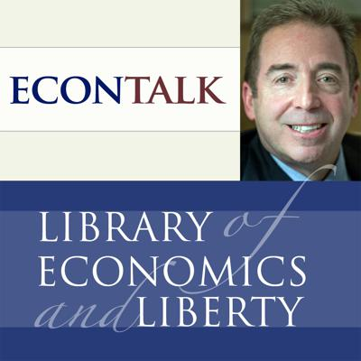 EconTalk is an award-winning weekly talk show about economics in daily life. Featured guests include renowned economics professors, Nobel Prize winners, and exciting speakers on all kinds of topical matters related to economic thought.  Host Russ Roberts, of the Library of Economics and Liberty and the Hoover Institution, draws you in with lively guests and creative repartee.  Topics include health care, business cycles, economic growth, free trade, education, finance, politics, sports, book reviews, and the curiosities of everyday decision-making. Look for related readings and the complete archive of previous shows at EconTalk.org, where you can also comment on the podcasts and ask questions.
