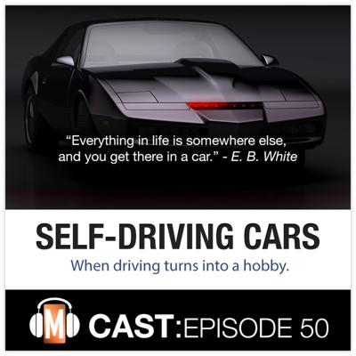 Cover art for Episode 50: Self-Driving Cars