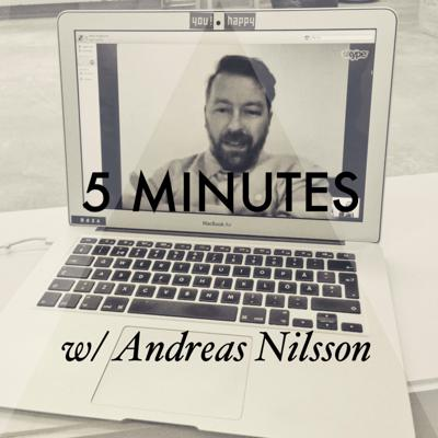 Cover art for 5 MINUTES with director Andreas Nilsson