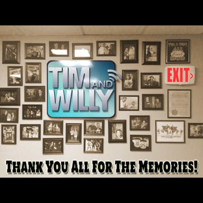 Cover art for TIM & WILLY'S FINAL SHOW & SIGN-OFF  6 - 27 - 2014