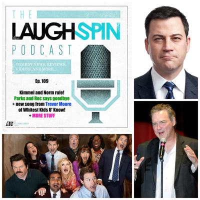 Cover art for Ep. 109 - Kimmel and Norm rule, Parks and Rec RIP, Last Man on Earth