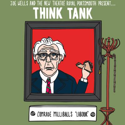Cover art for Think Tank Preview