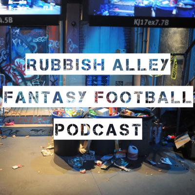 Cover art for Week 8 Recap - Rubbish Alley Fantasy Football Podcast