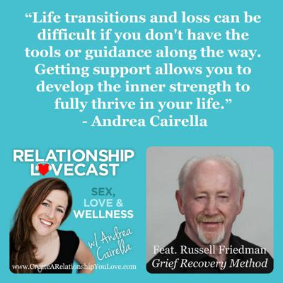 Cover art for Ep. 19 How to Deal with the Death of Someone Meaningful in your Life With Russell Friedman