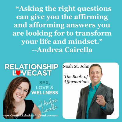 Cover art for Ep. 21 Afformations: Transforming Your Mindset with Noah St. John