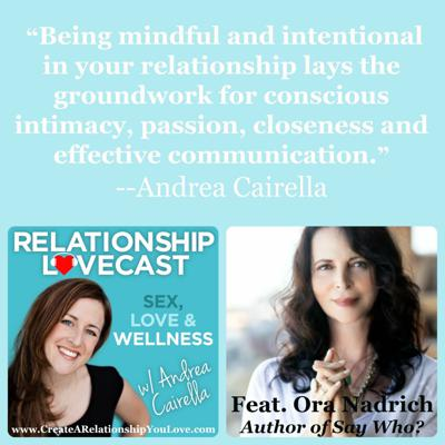 Cover art for Ep. 25 Mindful Relationships with Ora Nadrich