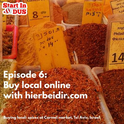 Cover art for Episode 6: Buy Local Online With Hierbeidir.com
