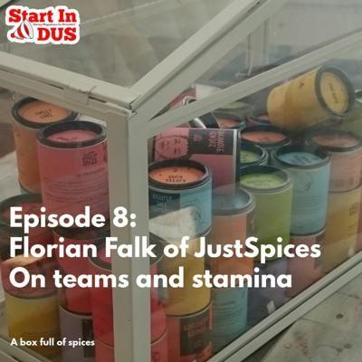 Cover art for Episode 8: Florian Falk of JustSpices on Teams and Stamina and more