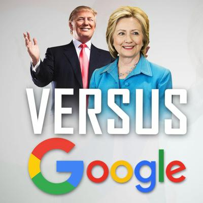 Cover art for Is Google Smashing Donald Trump while Favouring Hillary Clinton?!
