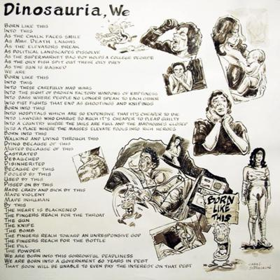 Cover art for Dinosauria We (by Charles Bukowski) Reading