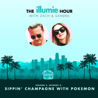 Cover art for sippin' champagne with pokemon