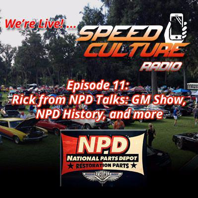 Cover art for SC Radio Episode 11: Interview with Rick from National Parts Depot