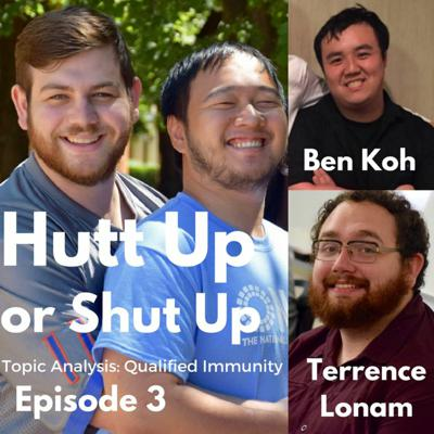 Cover art for Hutt Up or Shut Up E3- Terrence Lonam and Ben Koh