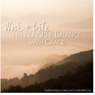 Cover art for Work + Life Handling the Balance with Grace