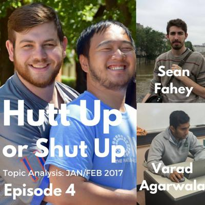 Cover art for Hutt Up or Shut Up E4- Varad Agarwala and Sean Fahey