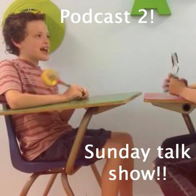 Cover art for The Talk Show Episode 1!