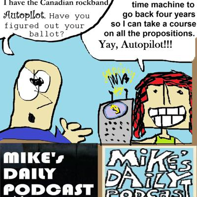 Cover art for Mike's Daily Podcast - MIKEs-DAILY-PODCAST-1214-Autopilot (made with Spreaker)