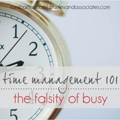 Cover art for Time Management 101 The Falsity of Busy