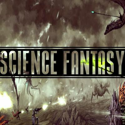 Cover art for Science-Fantasy
