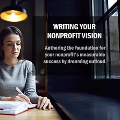 Cover art for Episode 8 - Writing Your Nonprofit Vision