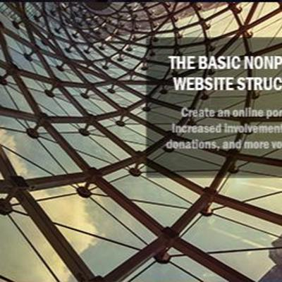 Cover art for Episode 9 - The Basic Nonprofit Website Structure